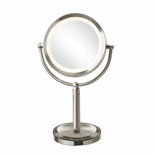 Price comparison Reticuli LED Lighted Magnifier Table Mirror ByOrren Ellis