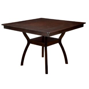 Williamsport Counter Height Solid Wood Dining Table Charlton Home