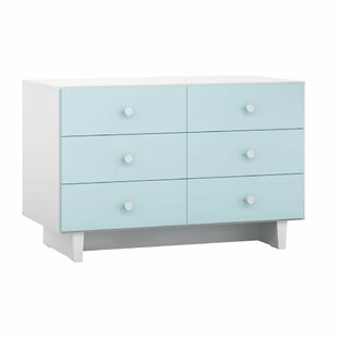 Dubois Children's 6 Drawers Standard Dresser/Chest