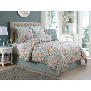 Junia 8 Piece Comforter Set