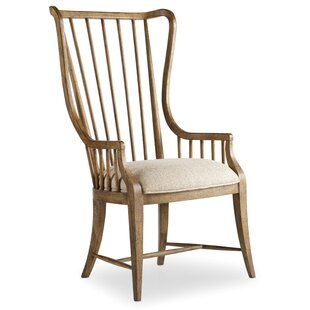 Sanctuary Solid Wood Dining Arm Chair (Set of 2)
