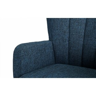 Lucki Swivel Armchair by Ebern Designs