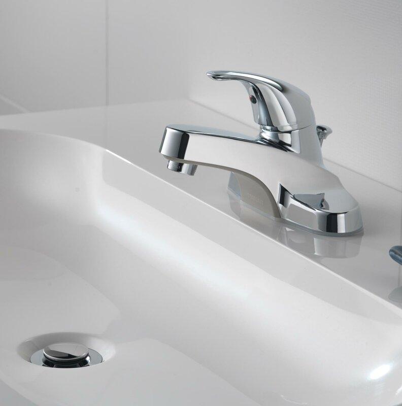 Peerless Faucets Centerset Bathroom Faucet with & Reviews | Wayfair