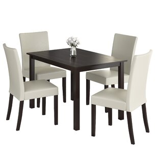 Isan 5 Piece Dining Set Brayden Studio