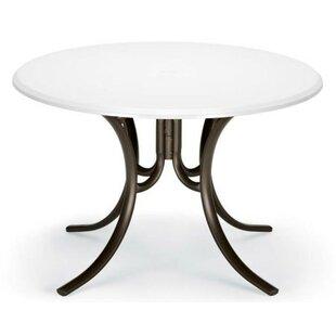 Best Werzalit 42 inch  Round Deluxe Dining Table Online