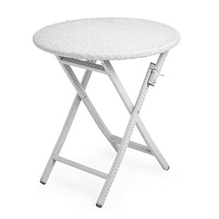 Tangier Wicker Folding Round Bistro Table