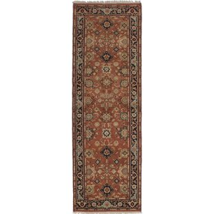 One Of A Kind Orchard Hill Hand Knotted Runner 2 7 X 11 Wool Brown Area Rug