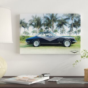 '1966 Ferrari 330 GTC' Graphic Art Print on Canvas By East Urban Home
