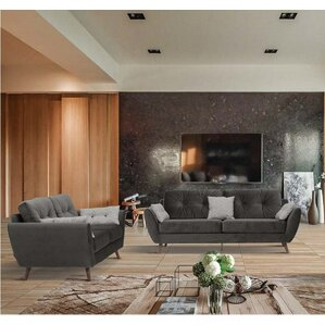 2 Piece Living Room Set by Noci Design