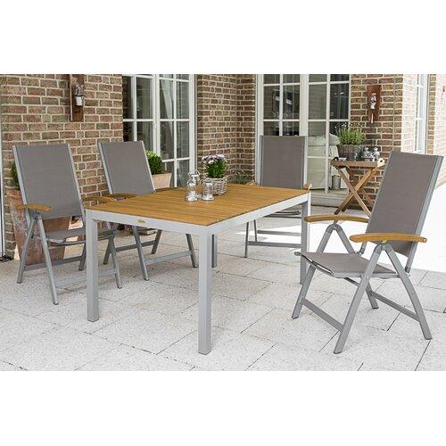 4-Sitzer Gartengarnitur Joel Kampen Living | Garten > Gartenmöbel > Gartenmöbel-Set | Kampen Living