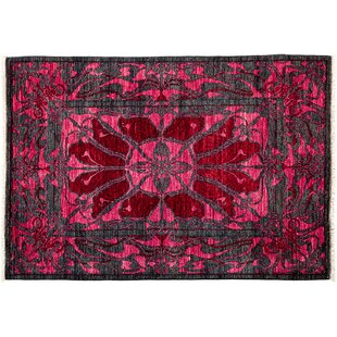 Best Choices One-of-a-Kind Shalimar Hand-Knotted Pink Area Rug By Darya Rugs
