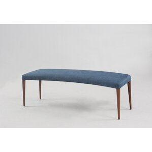 Carrell Upholstered Bench by Mercury Row