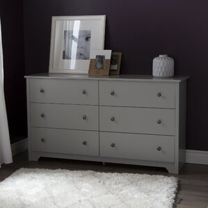 Vito 6 Drawer Dresser by South Shore