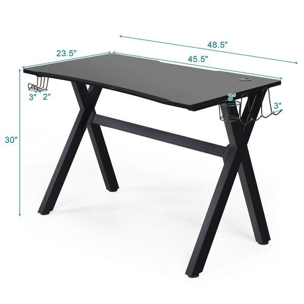 Ebern Designs Garrisons Computer Desk Wayfair Ca