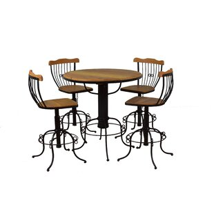 Hamby 5 Piece Bistro Set by Bloomsbury Market