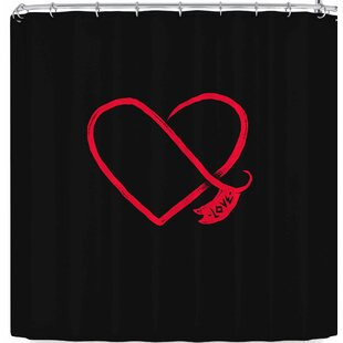 East Urban Home BarmalisiRTB Love Shower Curtain
