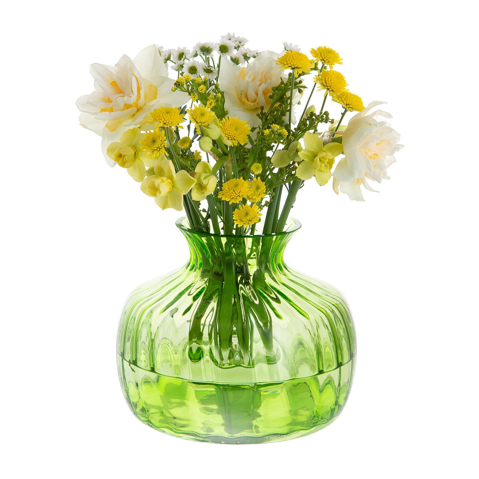 Dartington Crystal Table Vase Wayfair Co Uk