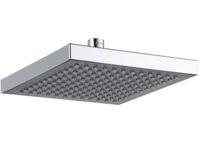 Universal Showering Components Touch Clean Rain Can Shower Head Delta Finish: Chrome