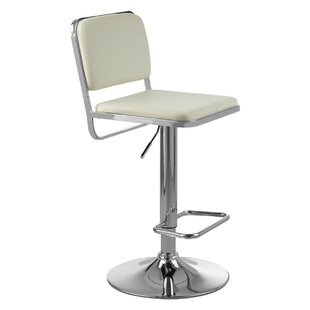 Rowena Height Adjustable Swivel Bar Stool By Ebern Designs