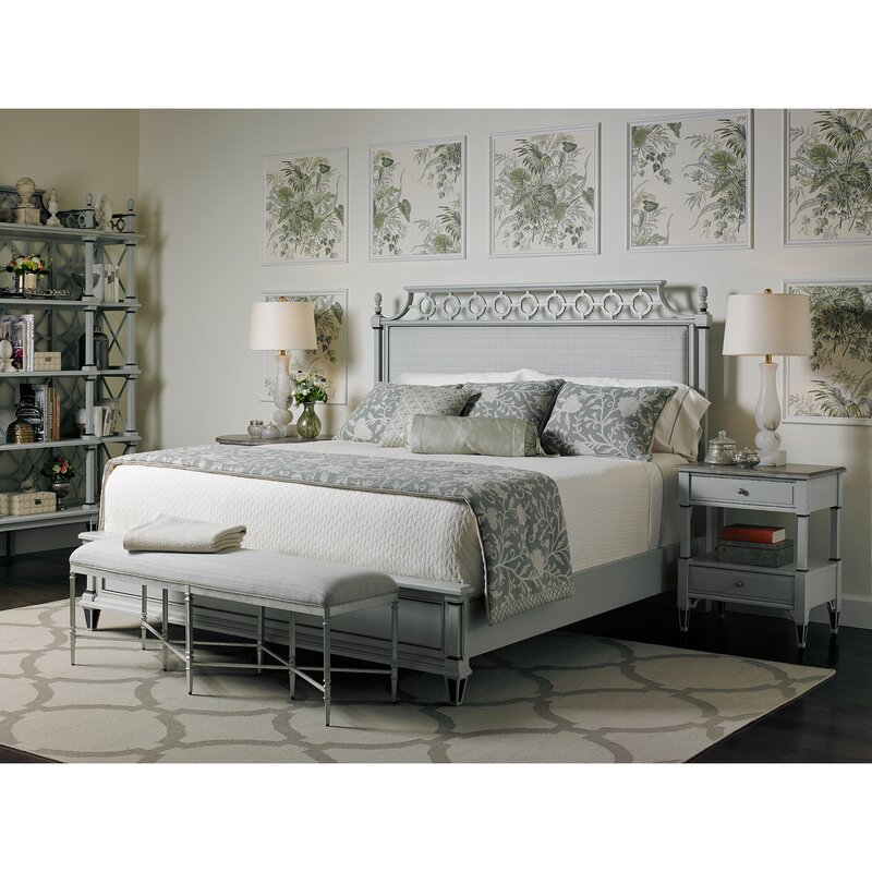Preserve Upholstered Panel Bed