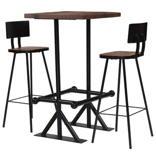 Cowell Dining Set With 2 Chairs By Borough Wharf