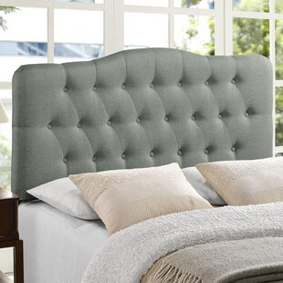 Stall Arch Upholstered Panel Headboard by August Grove