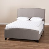 Halstein Full Upholstered Platform Bed by Latitude Run