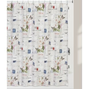 Fresnel Botanical Diary Shower Curtain