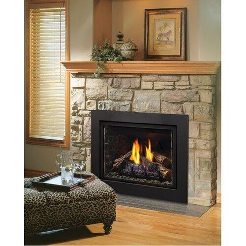 Kingsman Fireplaces Direct Vent Natural Gas Propane Fireplace