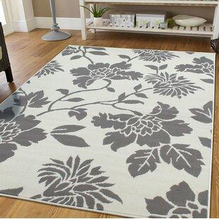 Reiber Ivory/Gray Indoor/Outdoor Area Rug