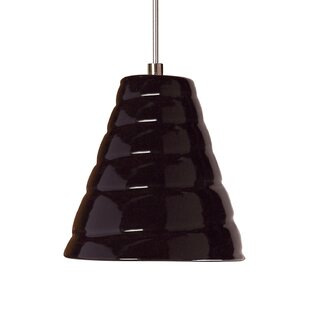 A19 Vortex 1-Light Cone Pendant
