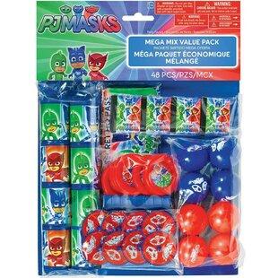 PJ Masks Paper/Plastic Disposable Favor Pack