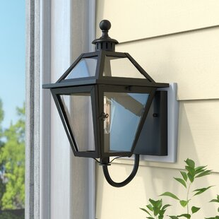 Best Choices Amboy 1-Light Outdoor Sconce By Darby Home Co