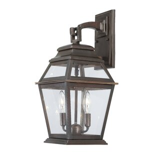 Crossroads Point 2-Light Outdoor Wall Lantern