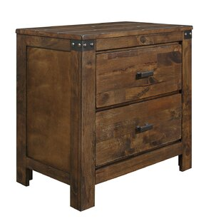 Okediran 2 Drawer Nightstand