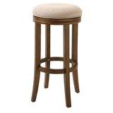 Mcgriff 30 Swivel Bar Stool by Charlton Home®
