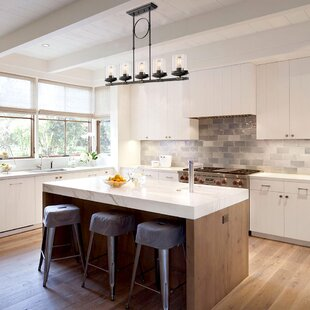 Farmhouse Pendant Lights Birch Lane - Black kitchen pendants