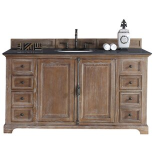Clearance Ogallala 60 Single Driftwood Bathroom Vanity Set ByGreyleigh