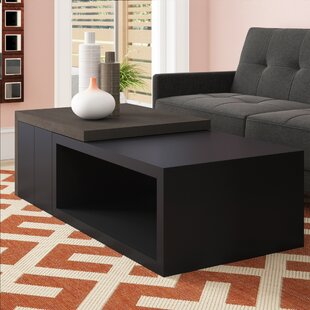 Towler Coffee Table with Pedestal Boxes