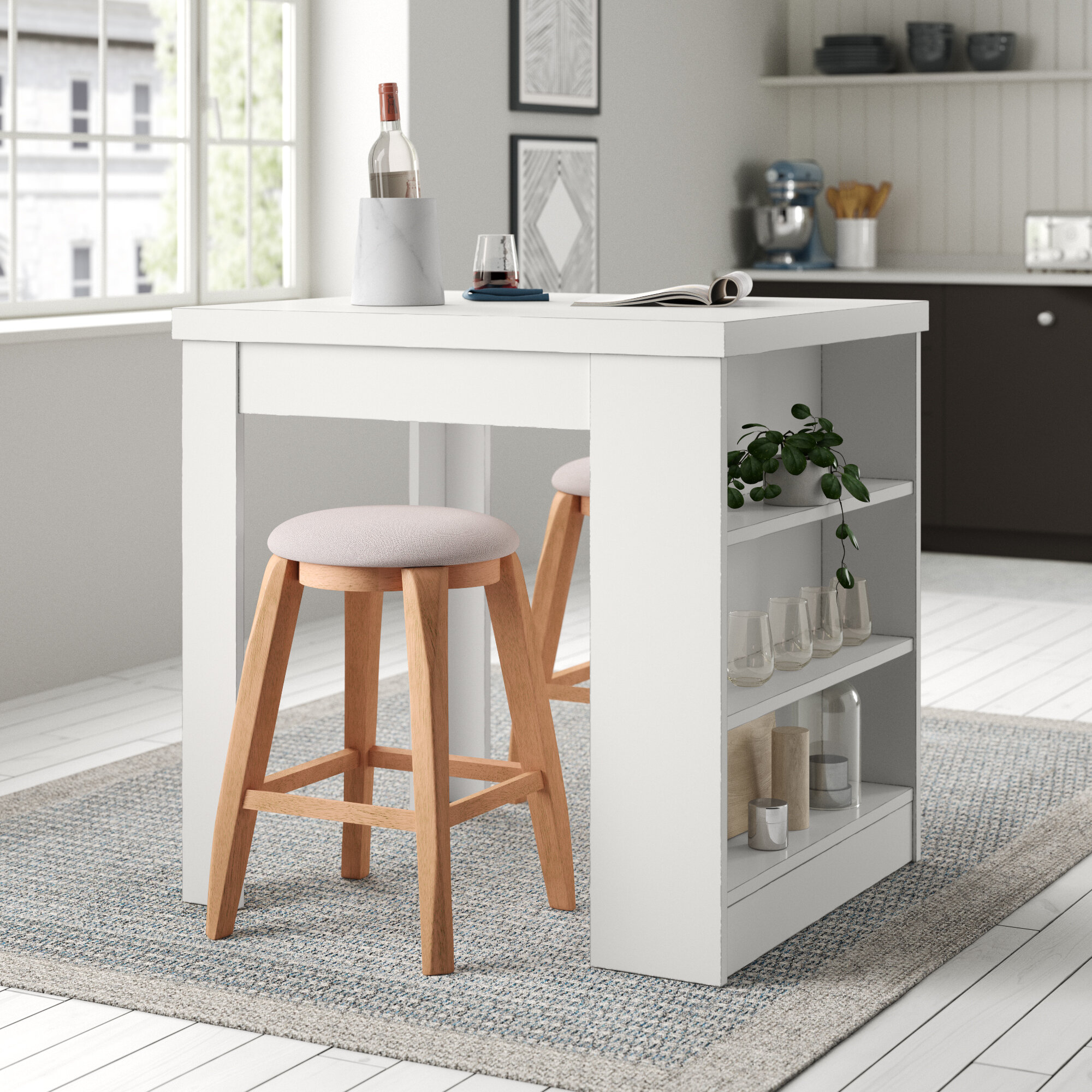 2 Seat Rectangular Kitchen Dining Tables You Ll Love In 2021 Wayfair
