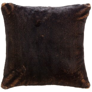 Newport Faux Fur Throw Pillow
