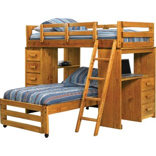 L Shaped Loft Bed Wayfair