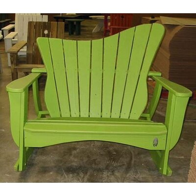 Wave Settee Rocking Chair Uwharrie Chair