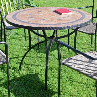 Wrightsboro Steel Dining Table By Sol 72 Outdoor