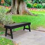 Admirable Backless Black Outdoor Benches Youll Love In 2019 Wayfair Pabps2019 Chair Design Images Pabps2019Com