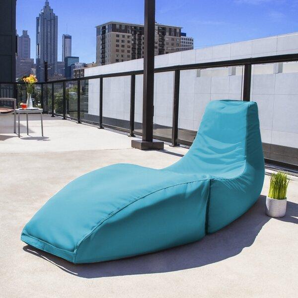 Jaxx Prado Outdoor Bean Bag Chaise Lounge Chair Reviews