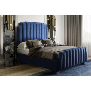 Zulema Upholstered Platform Bed by Everly Quinn