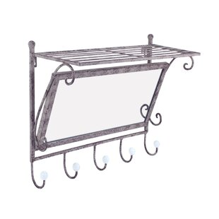 Brecken Wall Mounted Coat Rack By Lily Manor