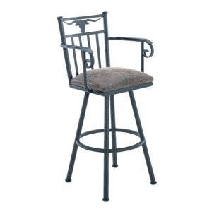 Ruben 26 Swivel Bar Stool by Millwood Pines Great Reviews
