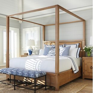 Newport Upholstered Canopy Bed
